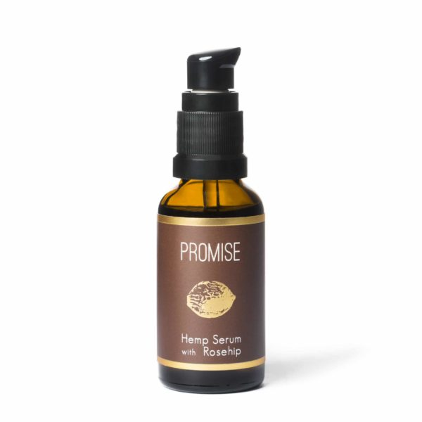 Promise Hemp Serum with Organic Rosehip (30ml)